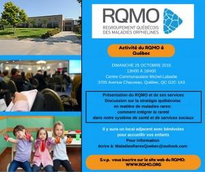 Activité du RQMO à Québec (1)